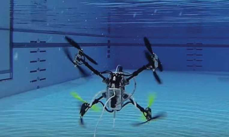 Drone ile boru hattı inceleme