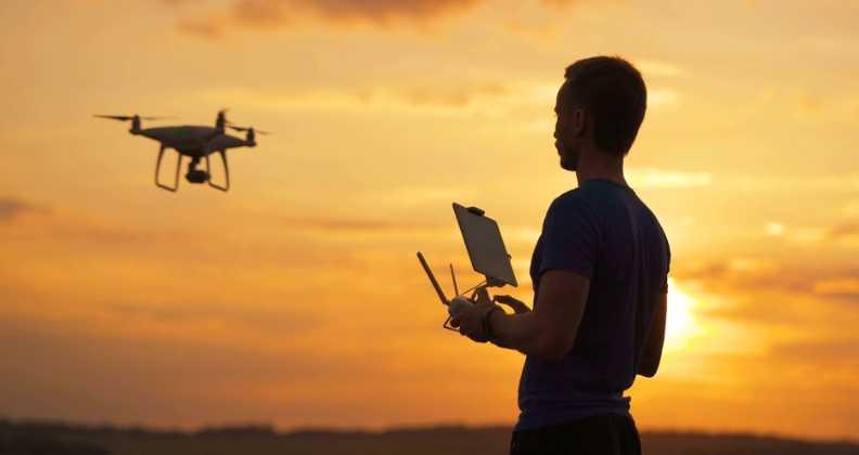 Drone ile video çekimi