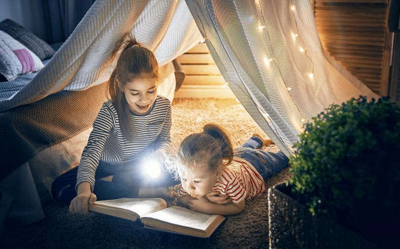 Yatmadan önce hikaye okumak veya kitap okuma saati yapmak